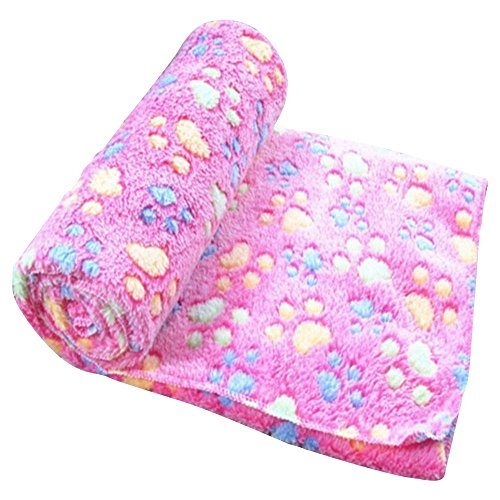 LuWees Pet Blanket for Small Cats and Dogs