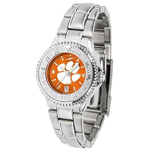 Clemson Tigers Competitor Steel AnoChrome Women's (Team Color Competitor Watch)