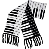 "Fine Knit Keyboard Scarf 66X"" 9"""