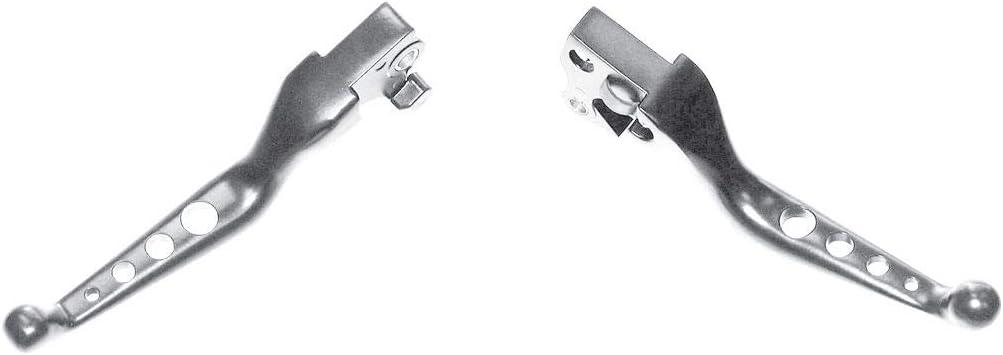 HardDrive 53550 Chrome Custom Levers 4-Hole
