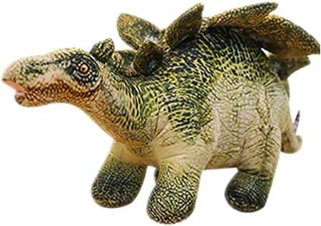 Morbuy Peluche Relleno, Dinosaurio Juguete de Peluche Suave Lindo Animals Mejores Regalos para Niños (40-72 cm/15.7-28.3 Inch, Stegosaurus (40cm))