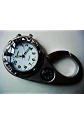 Clip on Watch Bag Pocket Watch W/compass & Back Light