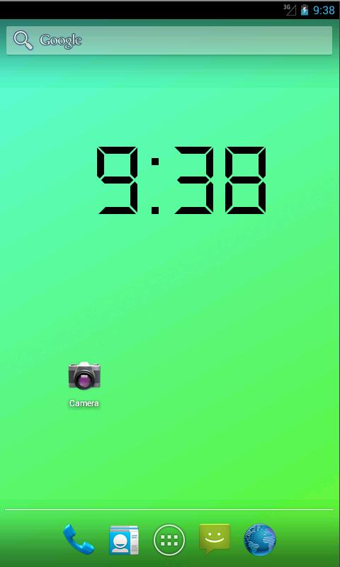 Amazon.com: Digital Clock Live Wallpaper