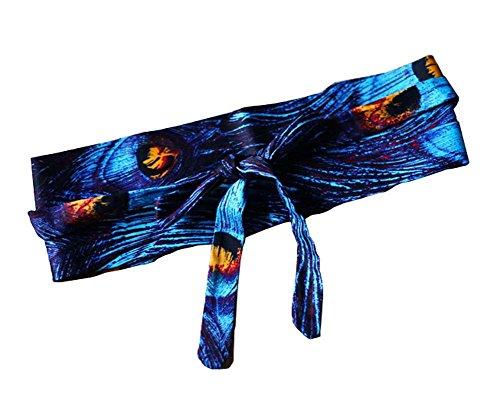 [BLUE Peacock] Cotton Women Waist Belts Corset Belt