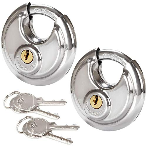 Looking for a disc padlock with key? Have a look at this 2019 guide!
