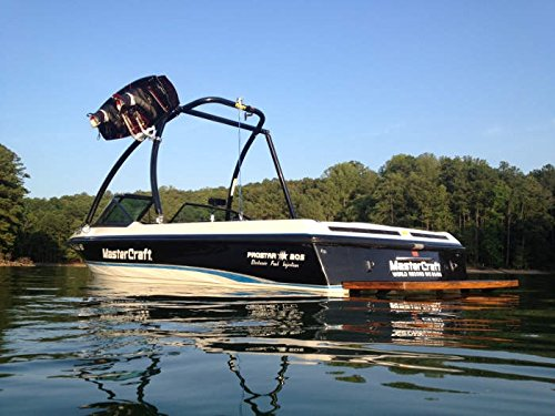 "MT1 Wakeboard Tower - Powder Coated Black - 2.5"" Tubing"