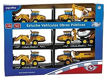 4R Estuche Vehículos Obras Públicas: Amazon.es: Juguetes y ...