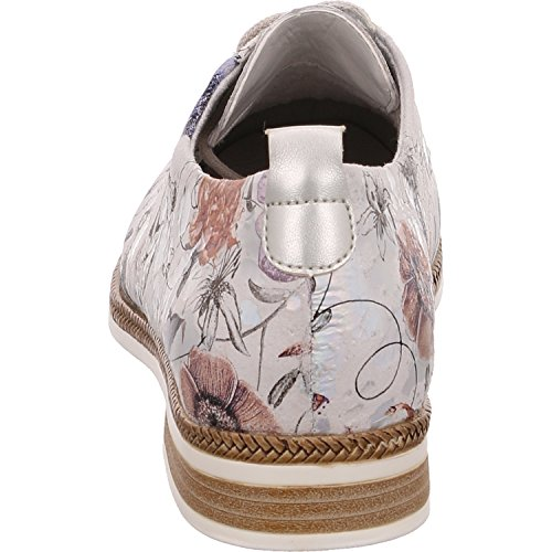 RemonteD2602 Remonte silver 90 90 Mujer metallic 90 offwhite Chukka Botines Tqq6dWcwA