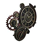 Veronese Design Mechanical Steampunk Astrolabe Star Tracker Wall Clock 17 Inch 7