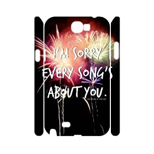 Custom Fall out boy 3D Cover Case, Custom Hard Back Phone Case for Samsung Galaxy Note 2 N7100 Fall out boy