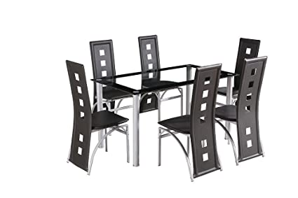 Amazing Crazy Sale Glass Square Dining Room Table Set And 6 Chairs Andrewgaddart Wooden Chair Designs For Living Room Andrewgaddartcom