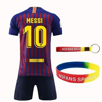 NSFANS Barcelona Camiseta Jersey Futbol 2018-2019-2020 Traje ...