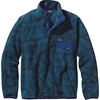 Amazon Com Patagonia Men S Lightweight Synchilla Snap T