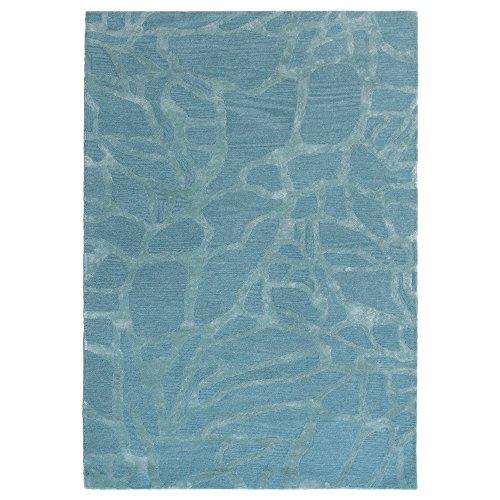 Liora Manne Turin Mosaic Indoor Rug, 8' x 10', Ice Blue