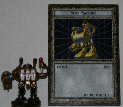B4-05 Slot Machine Yugioh Level 3 DungeonDice Series 4 Iron Guardians English Dungeon Dice Single Figure and Card