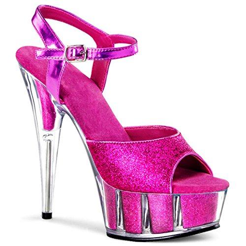 piedi alti alti di caviglie e moda tacchi sexy sexy Violet dita La donne alle dei YMFIE paillettes sandali matrimoni parti tacchi e qw7Rzcf