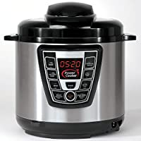 Power Cooker 9-in-1 Digital Pressure Cooker with Flavor Infusion Technology