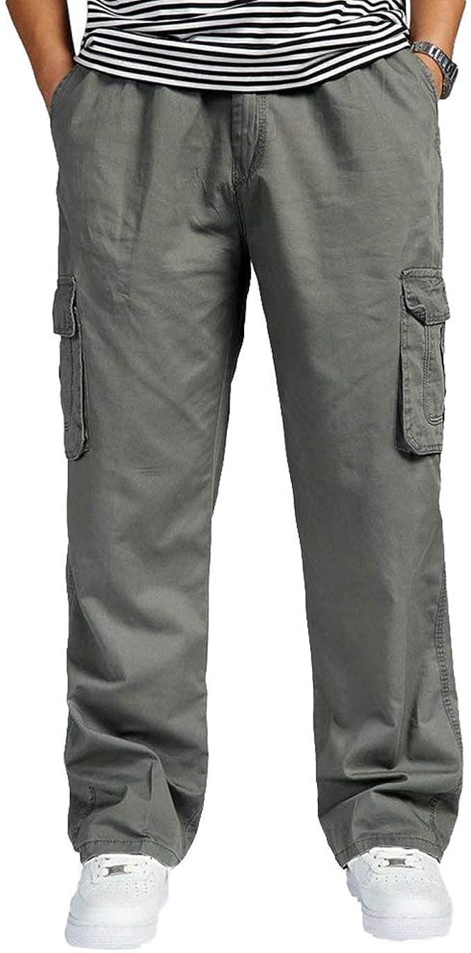 Pantalones De Los Deportes del Cargo De Los Hombres con Los ...