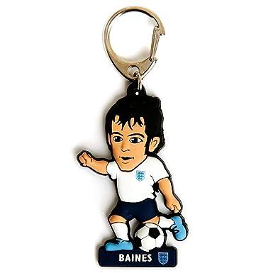 England FA - Llavero de PVC con figura de Baines (Talla ...