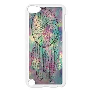 T-TGL(RQ) Customized New Printed Phone Case for Ipod Touch 5 diy Colorful Dream Catcher case