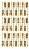 Chip Paint Brushes for Paint, Stains,Varnishes,Glues, Gesso, Arts & Crafts. (1''-36ea)
