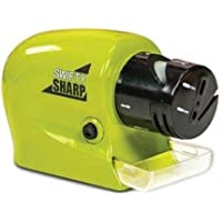 STOP 'N' BUY Plastic Swifty Sharp Cordless Motorised Sharpener for Knife Medium Size Multi-Coloured