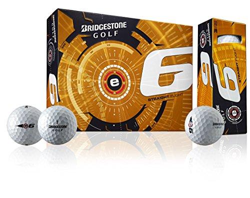 Bridgestone Golf 2015 e6 Golf Balls , White, Pack of 12