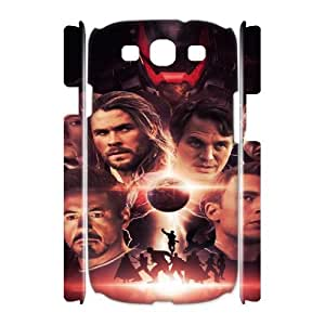 The Avengers SANDY0008091 3D Art Print Design Phone Back Case Customized Hard Shell Protection Samsung Galaxy S3 I9300