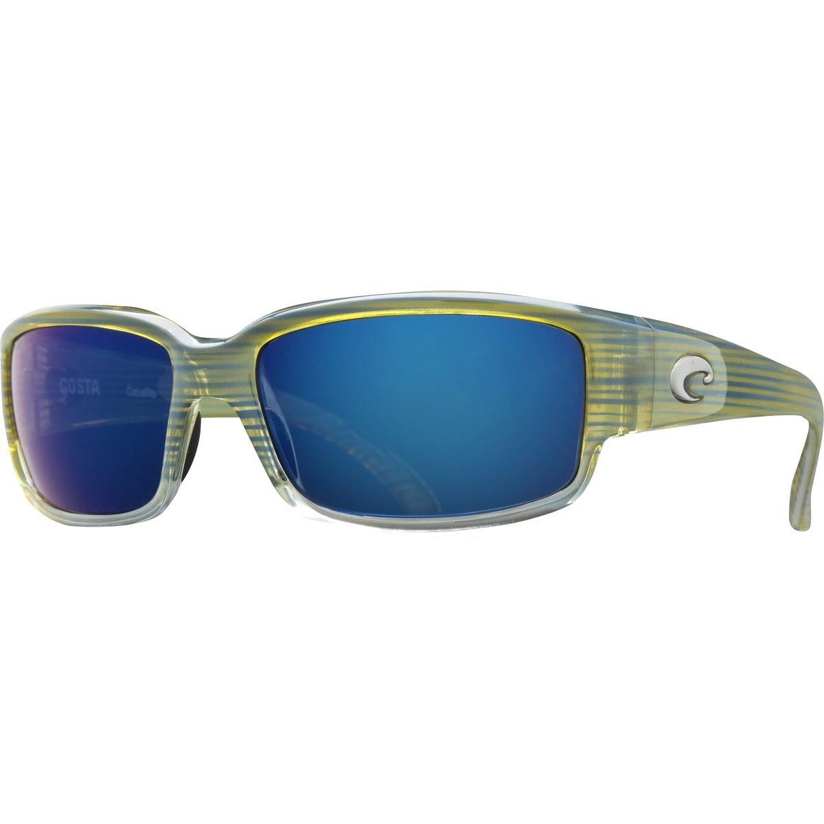77523d2df03c8 Amazon.com  Costa Del Mar Kenny Chesney Caballito Vanillia Sky Frames Blue  Mirror 580P Lense  Shoes