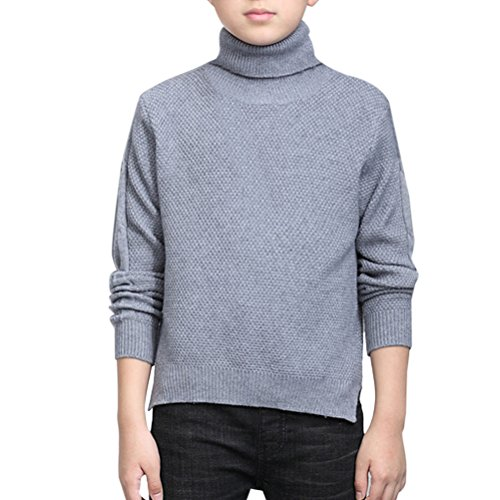 Zhuhaitf Winter Turtleneck Long Sleeves Sweaters Kids Boy...