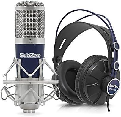 Pack de Grabacion con Microfono USB de Condensador SubZero SZ-500 ...