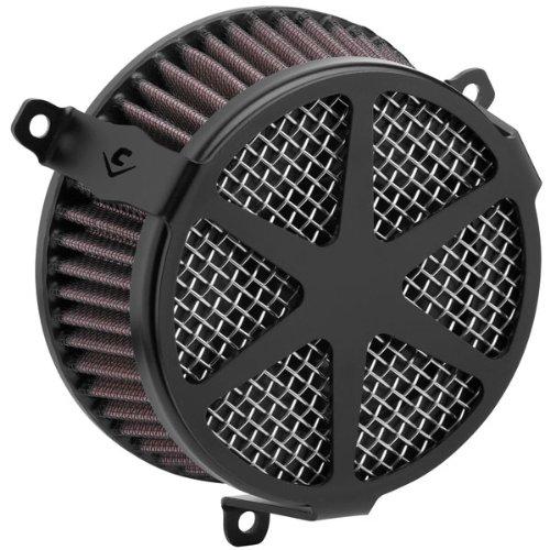 Cobra 14-19 Yamaha Bolt-RS Air Cleaner Kit - Spoke (Black) (Best Air Intake For Yamaha Bolt)