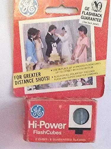 GE HI-Power Flashcubes