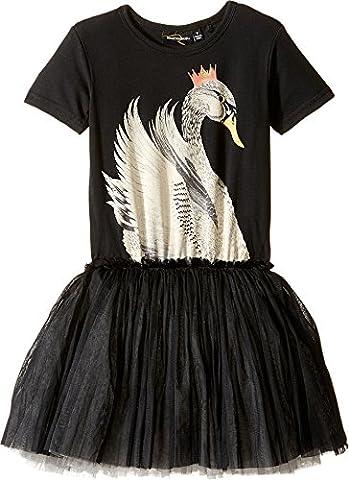 Rock Your Baby Baby Girl's Swan Lake Circus Dress (Toddler/Little Kids/Big Kids) Black Dress