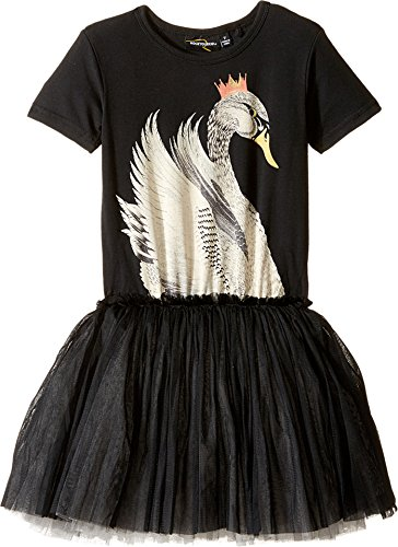 [Rock Your Baby Baby Girl's Swan Lake Circus Dress (Toddler/Little Kids/Big Kids) Black Dress] (Circus Dress)