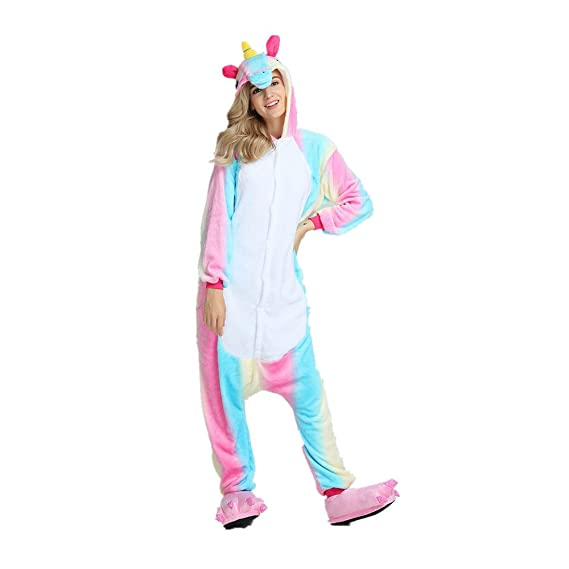 Colorfulworld Pijama de unicornio Cartoon Animal Novedad Navidad Pijama Cosplay: Amazon.es: Ropa y accesorios