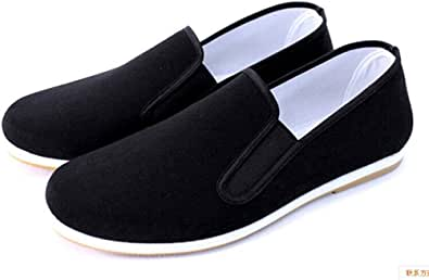 Men's Tai Chi Slippers, Black Shoes, Bruce Lee