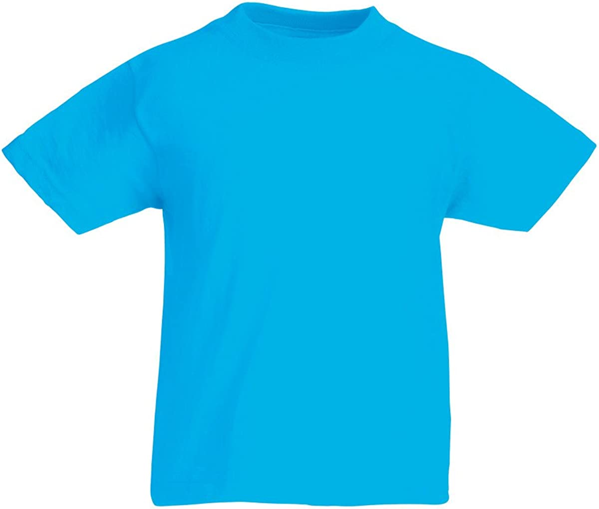 Fruit of the Loom Plain Childrens T Shirt All Ages