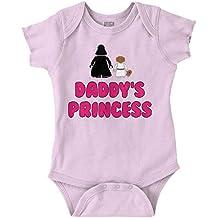 Daddy Princess Star War Darth Vader Cute Edgy Funny Romper Bodysuit