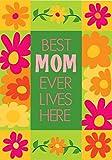 Best Mom Ever Applique Mini Flag