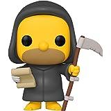 Boneco The Simpsons Casa da Árvore dos Horrores Grim Reaper Homer Pop Funko 1025