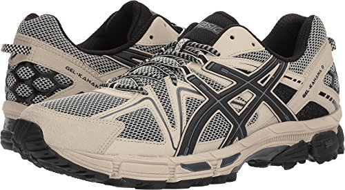 ASICS Mens Gel-Kahana 8 Running Shoe, Grey/Black/Carbon, 11 D(M) US