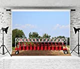 Kate 10x10ft Horse Track Backdrop for Kentucky Derby Party Photography Background Prop Photo Studio
