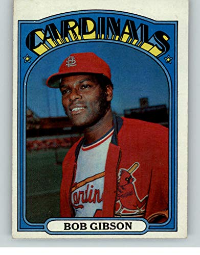 1972 Topps #130 Bob Gibson Cardinals NR-MT 364887 Kit Young Cards