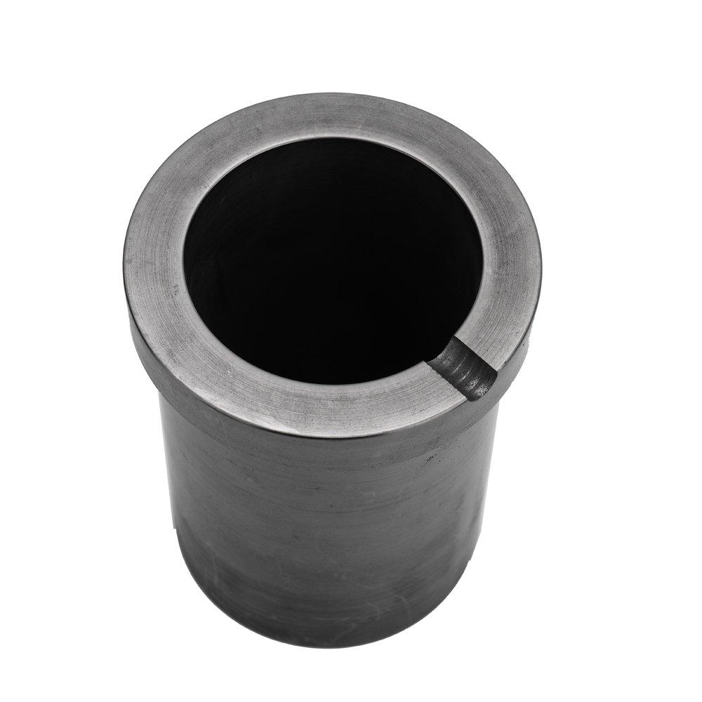 CUHAWUDBA Purezza Elevata Crogiolo Di Fusione Di Grafite Da 1Kg Buona Prestazione Di Trasferimento Di Calore Per Gli Strumenti Di Fusione Del Metallo nel Oro e Argento Ad Alta Temperatura