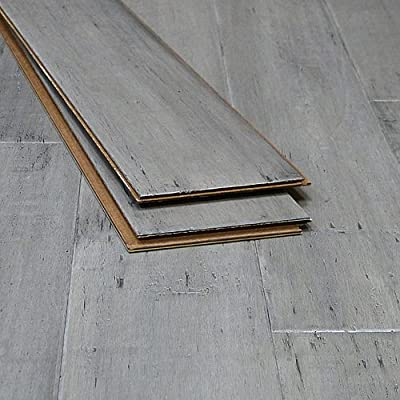 Bamboo Flooring Ashwood Distressed Click-Lock Strand