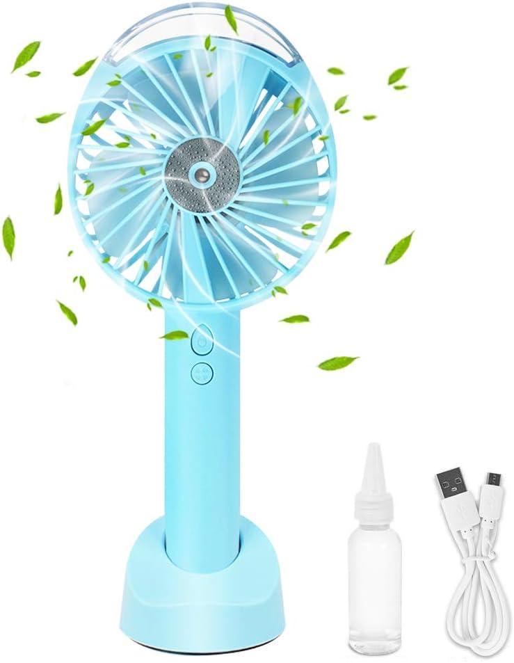 HONPHIER® ventilador de mano USB ventilador de bolsillo funciona ...