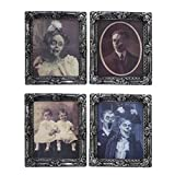 Darice Four 3D Changing Portraits Halloween Wall Decorations Eyes Move Assorted Lenticular