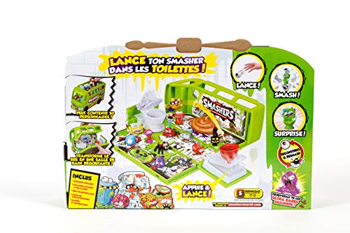 Smashers Sludge Bus Fold-Out Playset with 2 Exclusive Smashers Series 2  Gross by ZURU