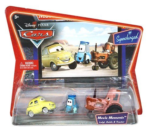 Cars Movie Moments Luigi, Guido & Tractor (From Tractor Cars)